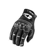 Летние кожаные мотоперчатки EVS Assen черные размер XXL
