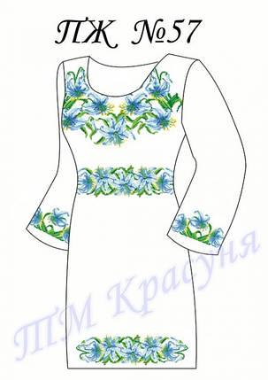 Заготовка платья-вышиванки ПЖ-57, фото 2