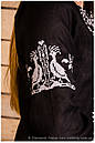 Вышиванка женская с рукавом на манжете, фото 4