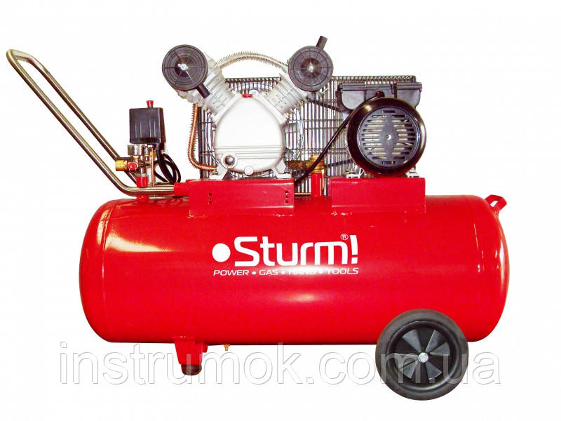 Компрессор воздушный 2400 Вт, 100 л Sturm AC93103