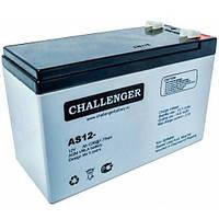 Аккумулятор AGM - 7.2 Ач, 12V гелевый Challenger AS12-7.2