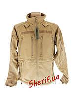 Куртка тактическая MIL-TEC SoftShell Coyote, 10859005