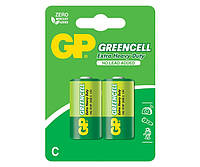 Батарейка GP 14G-U2 Greencell R14 C (2шт, блистер, 20/160)