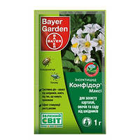 BAYER Garden Инсектицид Конфидор 1 г