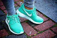Женские Кроссовки Nike Roshe Run Mint