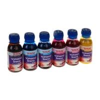 Комплект чернил WWM SIRENA для Epson сублимационные (6шт х 100г) Yellow, Magenta, Light Magenta, Light Cyan, C
