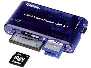 Внешние USB устройства, Картридеры