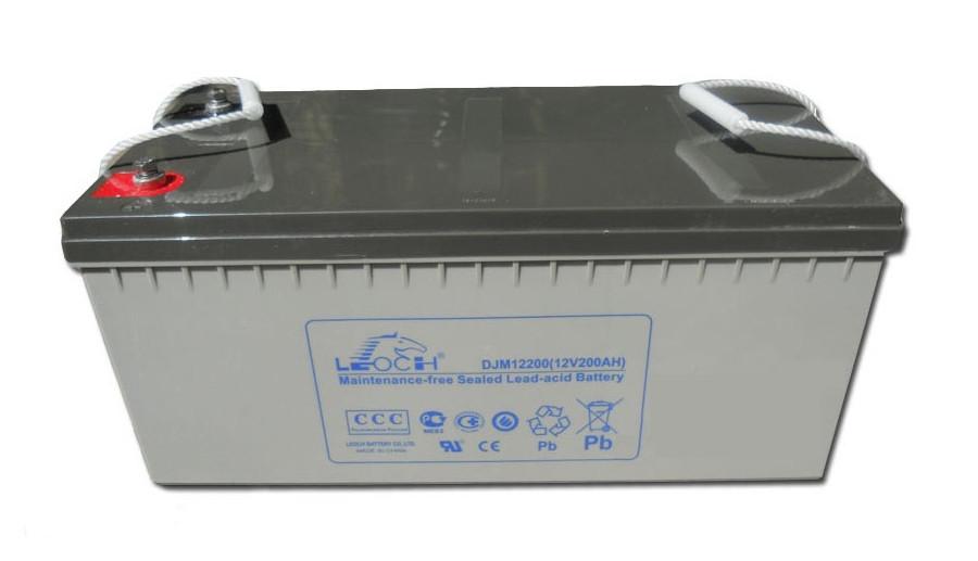 Аккумулятор AGM - 200 Ач, 12В гелевый Leoch DJM (LPL) 12200
