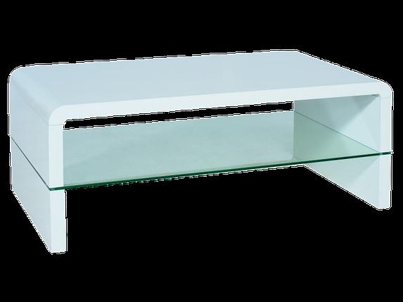 Журнальный столик Signal Rica белый, фото 2