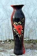 Красивая керамическая напольная ваза Азиза