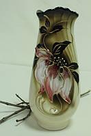Замечательная керамическая ваза Орхидея