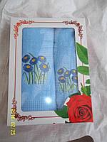 Махровые полотенца в подарочной упаковке