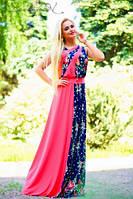 Женское летнее платье в пол + большие размеры