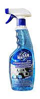 Жидкое средство Милам для хромированных и акриловых поверхностей с триггером - 500 мл.