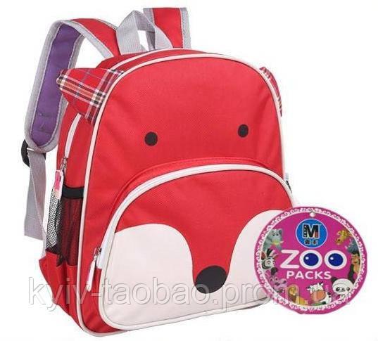 Детский рюкзак Skip Hop Zoo Pack реплика лиса Skip Hop