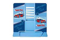 Подставка для книг металлическая Sport car 15х18 см