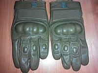 Перчатки тактические хаки с косточками