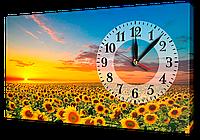 Часы на холсте 30 х 53 см 16