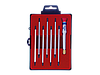 Отвёртки прецизионные (часовые) набор L=120mm 9пр. KINGTONY 32607MR