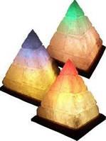 Соляная лампа Пирамида египетская