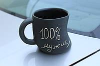 """Оригинальная чашка """"100% мужик"""""""