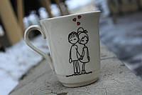 """Замечательная чашка """"Вместе навсегда"""""""