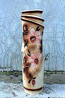 Изящная напольная глазурованная ваза Иллюзия