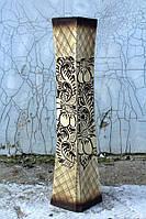 Оригинальная резная напольная ваза Айсберг