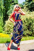 Платье женское летнее в пол + большой размер
