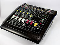 Аудио микшер Mixer BT-5200D. Микшер на 5 каналов!