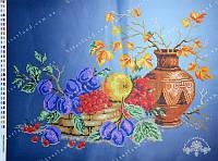 """Схема для вышивки бисером """"Натюрморт с вазой"""""""