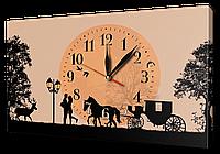 Часы на холсте 30 х 53 см 9