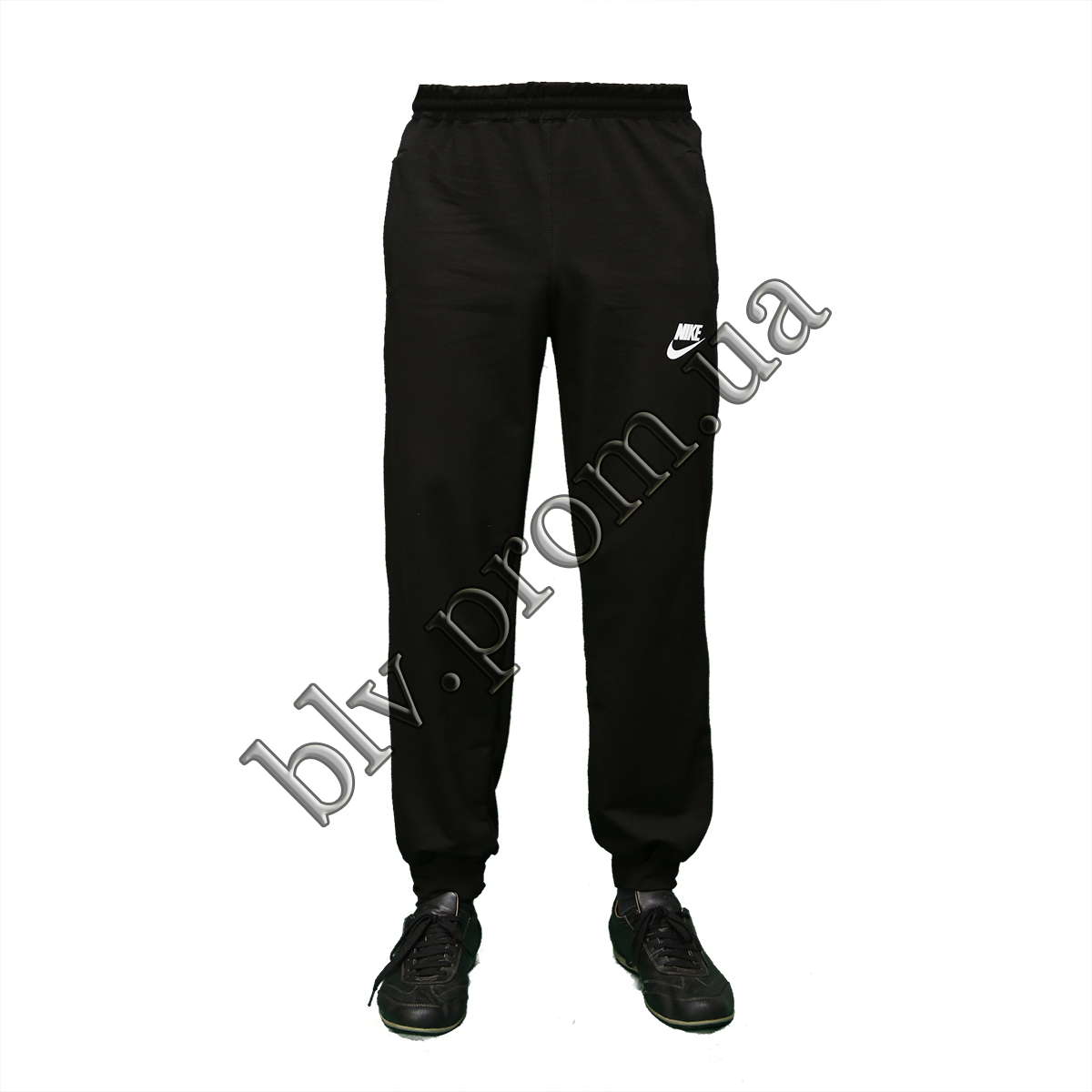 Трикотажные мужские брюки на манжете пр-во Украина  2523N