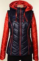 Новинка! Женская разборная куртка-жилет со съемным капюшоном и рукавами!