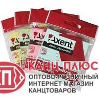 Axent Стикер статистический, 75x75мм, 100л. Цвета в ассортименте арт. 2448-01-А