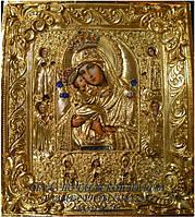 Иконы в ризах. Почаевская икона Пресвятой Богородицы № 70