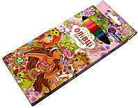 Карандаши цветные Josef Otten 12 цветов Українські дівчата, фото 1