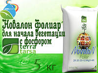 НОВАЛОН ФОЛИАР  для начала вегетации с водорастворимыми соединениями фосфора.Некорневая подкормка растений