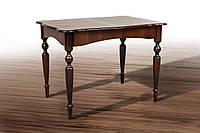 Стол обеденный Омега, темный орех 1030(+340)*740мм раскладной