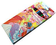 Карандаши цветные Josef Otten 12 цветов Принцессы, фото 1