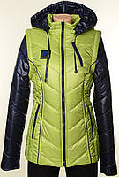 Женская, молодежная, разборная куртка-жилет, разные цвета. Хит Сезона!