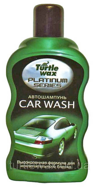 Автошампунь Platinum Turtle Wax 0,5л