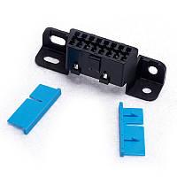 OBD2 16 pin мама колодка разборная для подключения диагностического оборудования
