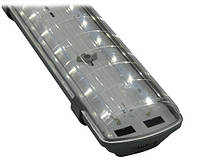 Корпус светильника светодиодного LED 2x600mm (ЛПП 2х18 IP65)