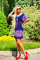 Женское летнее платье-туника + большой размер