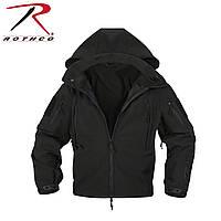 Куртка  полицейского ОРС (SOFT SHELL ) цвет черный  США