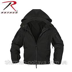 Куртка поліцейського ОРС (SOFT SHELL ) колір чорний США