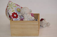 Детские товары для творчества. Баран Бяша с цветочком 9,5 см.