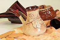 Турка керамическая глазурованная.
