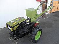 Мотоблок дизельный Кентавр МБ1081Д (электростартер) в комплекте (плуг и фреза)